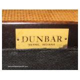 """Dunbar Furniture 7 Piece Mid Century Modern Danish Dining Set"