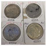 Selection of U.S. Morgan Silver Dollars – auction estimate $20-$50 each