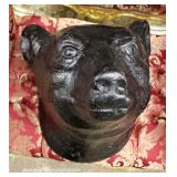 Hand Carved Wood Bear Head – auction estimate $100-$200