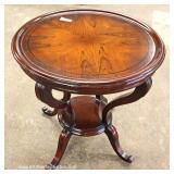 Contemporary Mahogany Decorator Lamp Table – auction estimate $100-$200