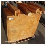 Butcher Block Table – auction estimate $200-$400