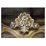 2 Piece French Style Carved Marble Top Console with Mirror – auction estimate $200-$400