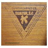 """Contemporary SOLID Oak High Chest by """"Sumter Furniture"""" – auction estimate $100-$300"""