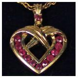 Sterling Danbury Mint Necklace and Charm – auction estimate $20-$50