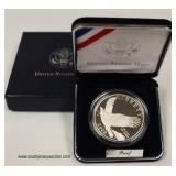 U.S. Mint Silver 2008 Commemorative Coin – auction estimate $20-$50