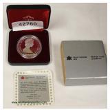 Canadian Silver Dollar – auction estimate $20-$50