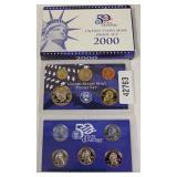 U.S. 2000 Mint Proof Set – auction estimate $5-$10