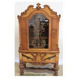 Depression Walnut 2 Tone Fancy 10 Piece Dining Room Set – auction estimate $400-$800