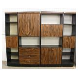 5 Piece Mid Century Modern Wall Unit with Bar – auction estimate $200-$400