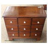 Pine Multi Drawer Chest – auction estimate $100-$200