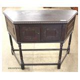 Carved Depression Oak Server – auction estimate $100-$300