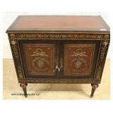 ANTIQUE French Empire Style Server with Applied Bronze – auction estimate $300-$600