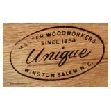 "Country French Style Oak 2 Door Gentlemen's Armoire by ""Unique Furniture"" – auction estimate $300-$"