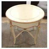 Paint Decorated French Style Center Table – auction estimate $100-$