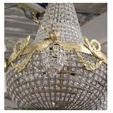 Large Selection of Bronze and Crystal Chandeliers – auction estimate $100-$400 each