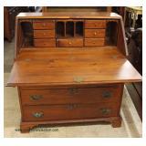 ANTIQUE Knotty Pine Slant Front Desk – auction estimate $200-$400