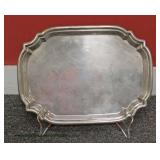 "Sterling Tray by ""Poole"" – auction estimate $100-$300"