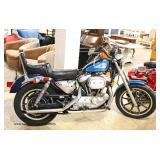 "COOL VINTAGE 1991 ""Harley Davidson"" XLH-1200 Sportster with Original Paint, Mag Wheels, Running and"
