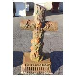Cast Iron Yard Cross – auction estimate $100-$200
