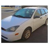2003 Ford Focus 5 Door Wagon Running Condition Vehicle, New Battery, New Tune Up, New Plugs and Wipe