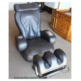 2 Piece Modern Leather Massage Chair – auction estimate $200-$400