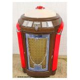 "Semi Antique ""Seeburg"" Juke Box in working order in original found condition – auction estimate $10"