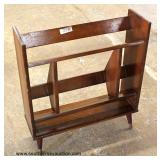 Mid Century Modern Danish Walnut Bookshelf/Magazine Holder – auction estimate $100-$300