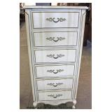 French Provincial 6 Drawer Lingerie Chest – auction estimate $100-$200