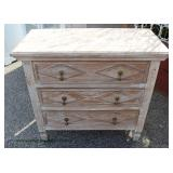 Reclaim Wood Style 3 Drawer Low Chest – auction estimate $100-$200