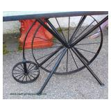 Country Style High Wheel Bicycle Table – auction estimate $100-$300