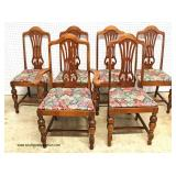 Depression 10 Piece Walnut 2 Tone Dining Room Set – auction estimate $400-$800