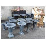 Selection of Outdoor Garden Harbors and More – auction estimate $400-$800