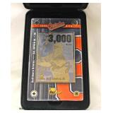 Cal Ripken Jr. Baltimore Orioles 24 Karat Gold Collectible Commemorative 3000 Hits Baseball Card – a