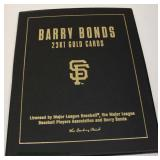 """The Danbury Mint"" Barry Bonds 23 Karat Gold Cards Book – auction estimate $20-$50"