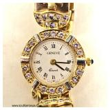 """Geneve"" 14 Karat Two Tone Gold  1 ½ CTW Ladies Diamond Watch – auction estimate $2000-$5000"