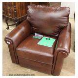 NEW Leather Power Recliner – auction estimate $200-$400