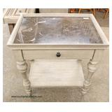 NEW Marble Top Antique Style Lamp Table – auction estimate $100-$200