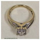 14 Karat White Gold ¾ CTW Diamond Ring – auction estimate $500-$1000