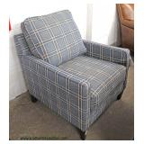 NEW Country Style Upholstered Arm Chair – auction estimate $100-$300