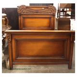 ANTIQUE 3 Piece Texas Oak Bedroom Set with Full Size Bed – auction estimate $200-$400