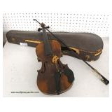 Selection of Violins in Cases – auction estimate $50-$200