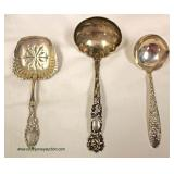 Large Selection of Sterling Silver – auction estimate $20-$200