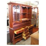 "Cherry ""Pennsylvania House Furniture"" 2 Piece Hutch"