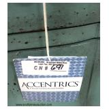 """NEW Contemporary """"Accentrics"""" Decorator Console"""
