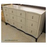 NEW Contemporary 9 Drawer Low Chest