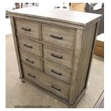 NEW Contemporary Farm Wood Style High Chest