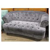 PAIR of NEW Upholstered Button Tufted Contemporary Sofa's