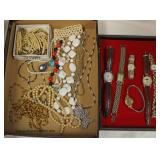Large Selection Estate Sterling and Costume Jewelry