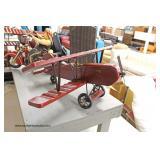 Decorator Wood Air Plane
