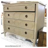NEW Contemporary 4 Drawer Chest  Auction Estimate $100-$300 – Located Inside